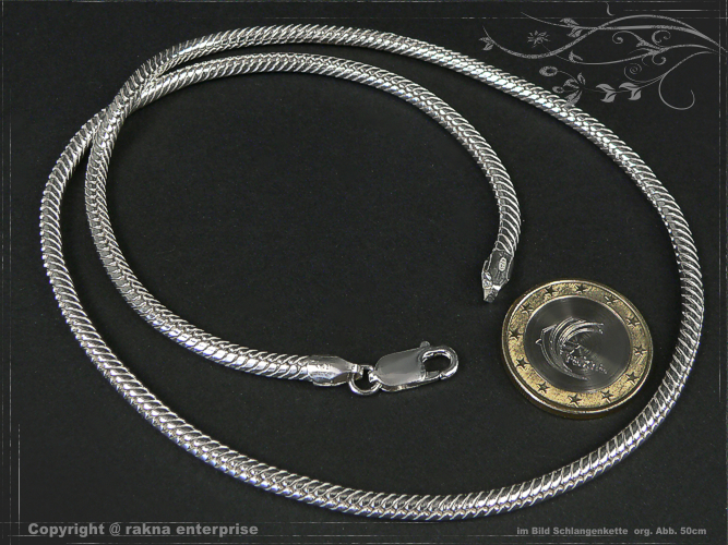 Snake Chains 925 silver 3,5mm solid